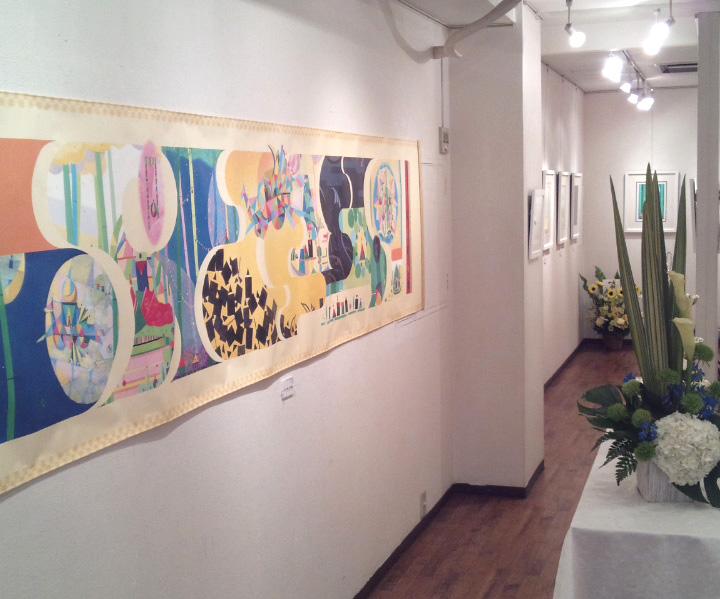 銀座・月光荘 第2画室